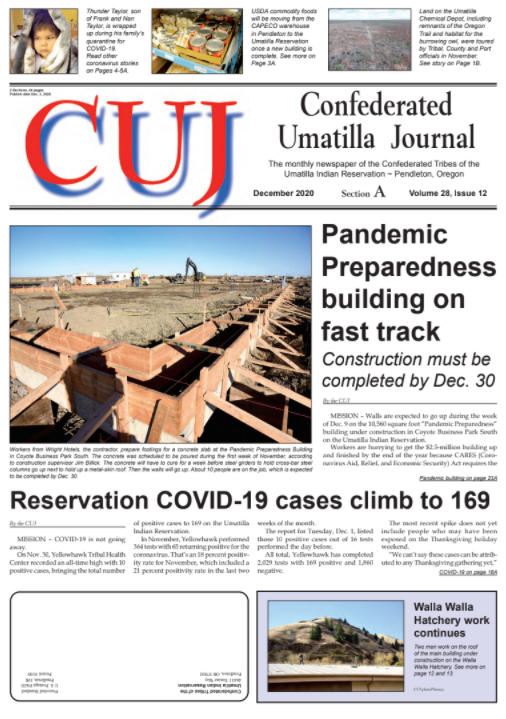 Cover of the Dec 2020 CUJ